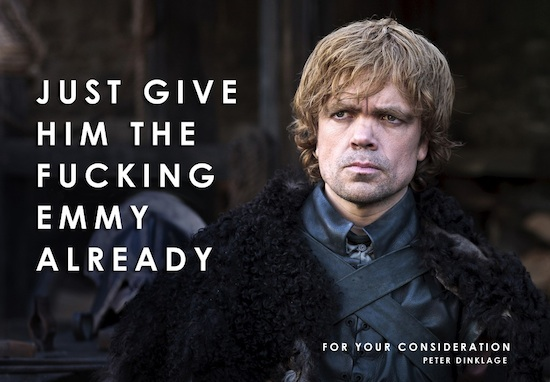 Game of Thrones - sesong 1 peter dinklage emmy
