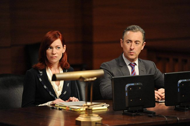 Going For The Gold The Good Wife Alan Cummings Carrie Preston