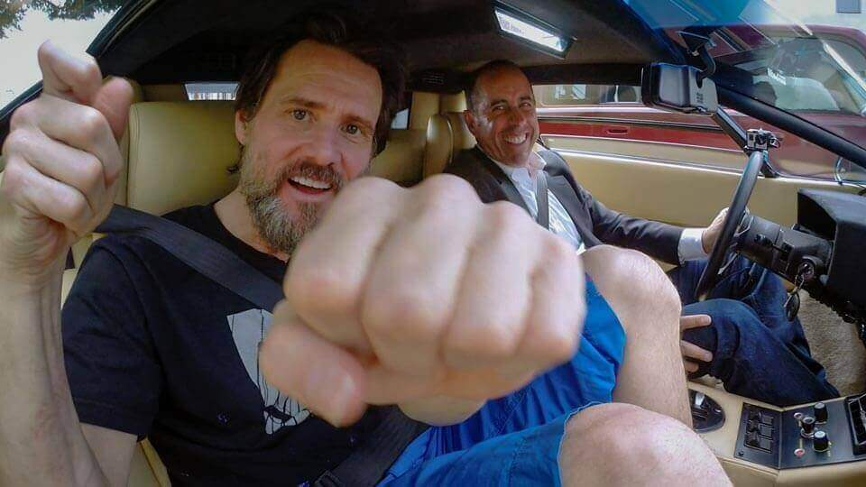 Comedians in cars getting coffee jim carrey