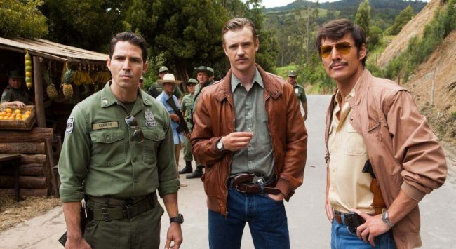 Narcos Maurice Compte Pedro Pascal Boyd Holbrook Narcos Maurice Compte Pedro Pascal Boyd Holbrook