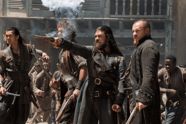 Black Sails Sesong 4. Foto: Starz Black Sails Sesong 4