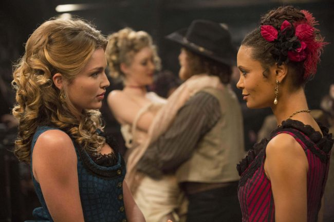 lili-simmons-as-new-clementine-thandie-newton-as-maeve-westworld Lili Simmons as New Clementine Thandie Newton as Maeve westworld