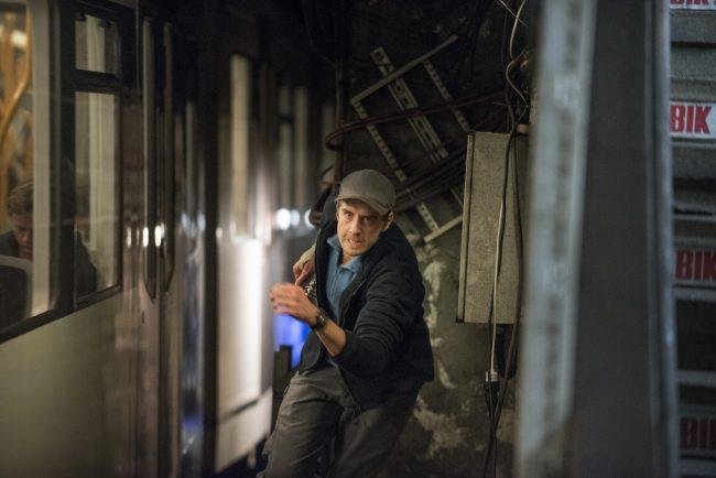 Valkyrien Leif running subway