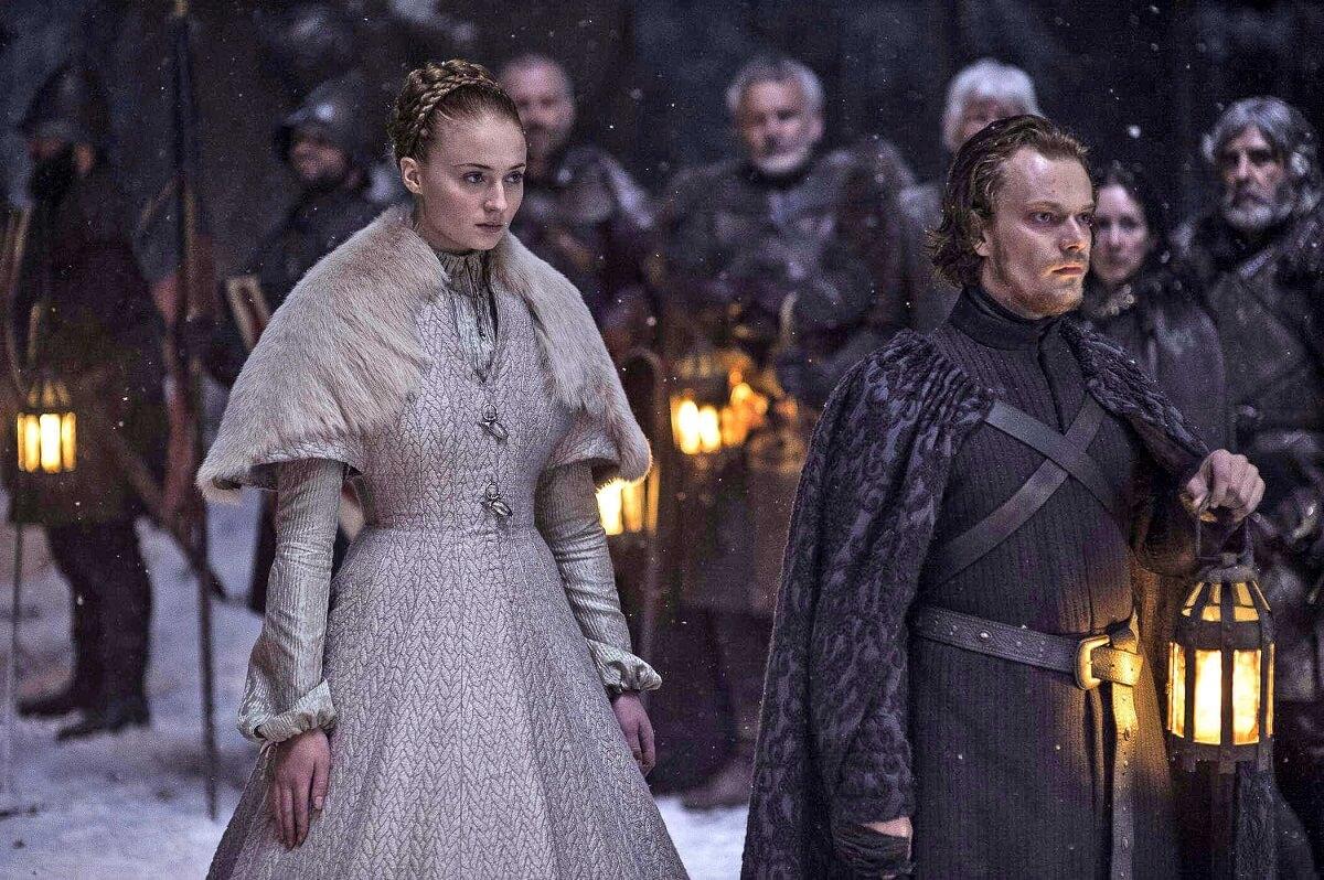 Sansa er en av mange undertrykte kvinnelig karakterer i Game of Thrones. sansa
