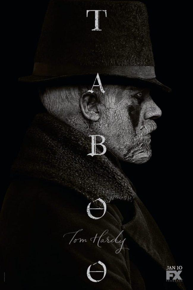 Tom Hardy-serien Taboo kommer til HBO Nordic taboo poster1 1