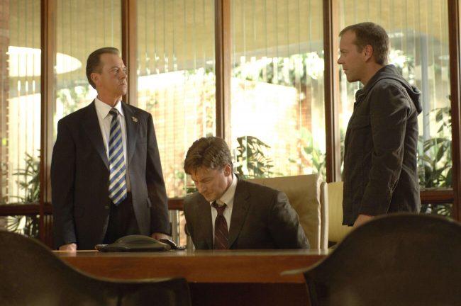 Jack Bauer Charles Logan Walt Cummings 24 Season 5 Episode 6 1