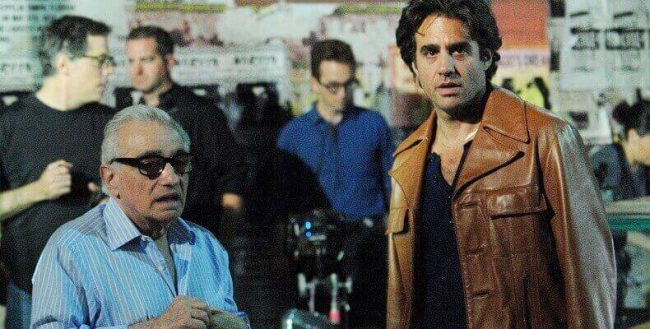 Martin Scorsese and Bobby Cannavale