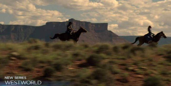 westworld horses