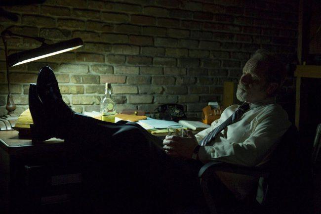 Peter Mullan i Quarry. Foto: Cinemax