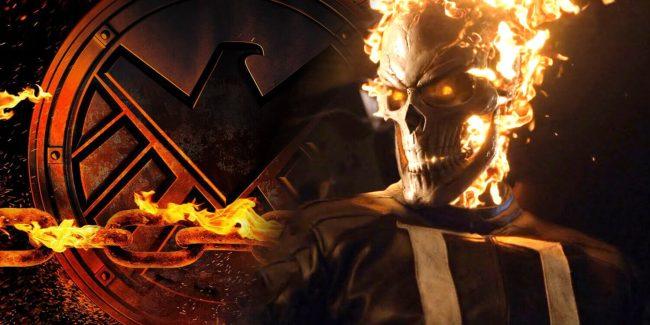 Ghost Rider er blitt med i sesong 4 av Agents Of S.H.I.E.L.D.