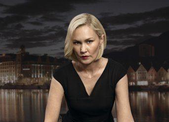 Ellen Dorrit Petersen, her i Aber Bergen. Foto: TV3