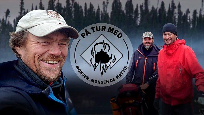 Monsen, Monsen og Mattis. Foto: NRK