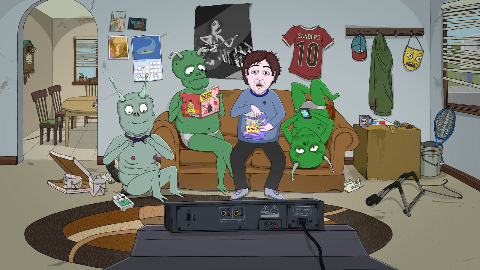Jeff & Some Aliens