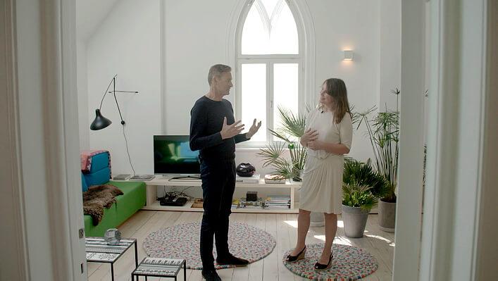 Arkitektens Hjem. Foto: NRK