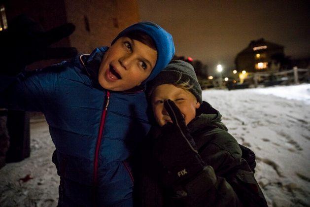 Bonusfamiljen. Foto: NRK
