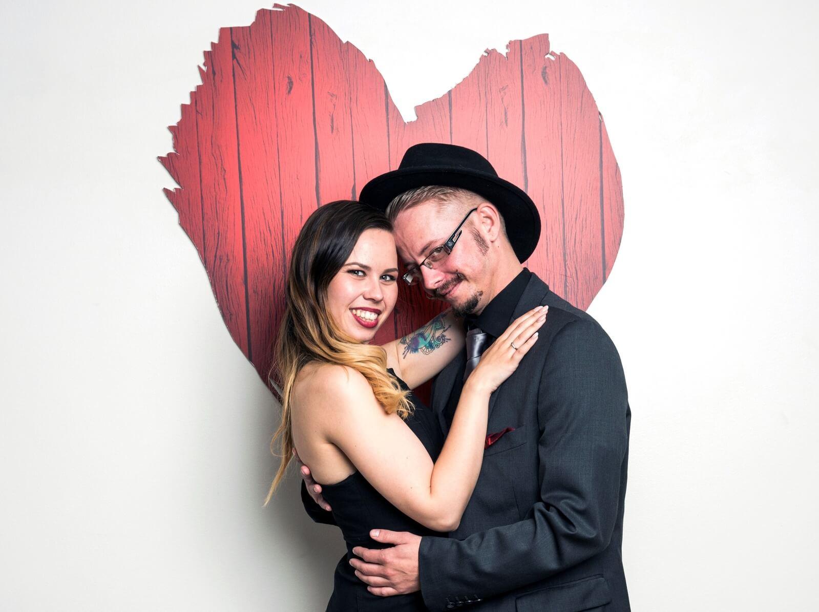 Første date i 30-årene gjenskape