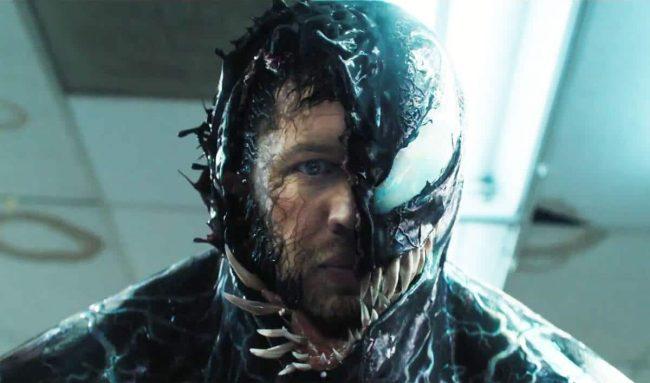 Venom, spilt av Tom Hardy. Foto: Sony.