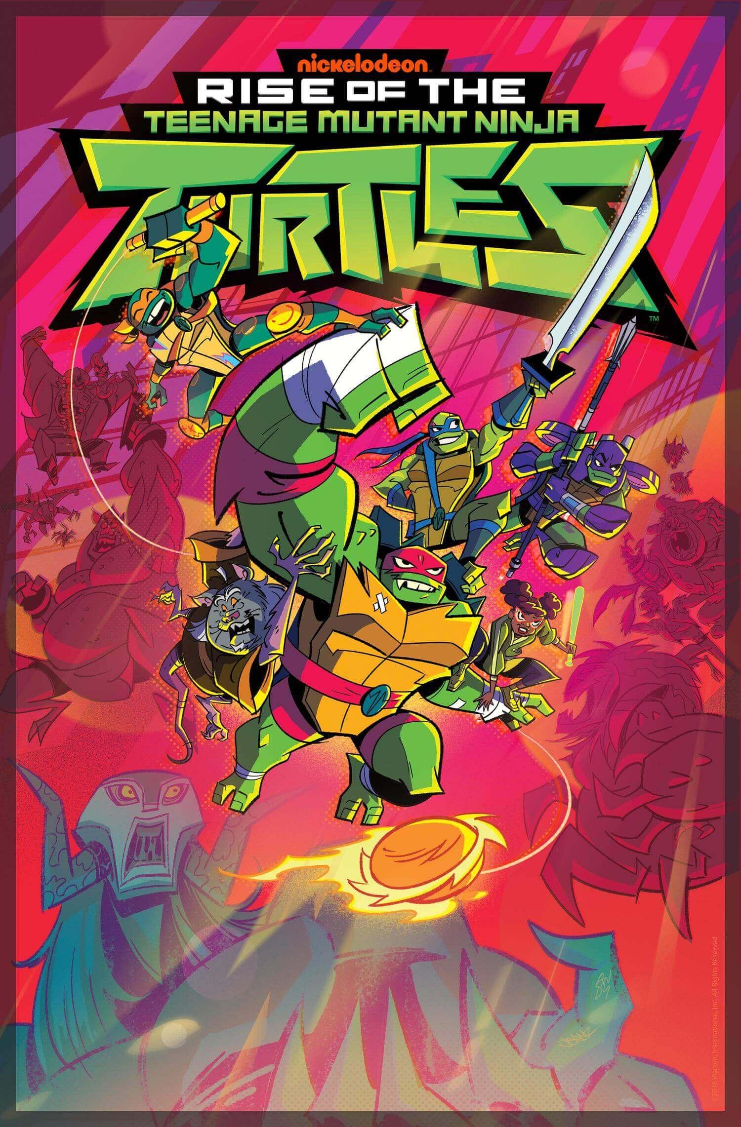 Rise of the Teenage Mutant Ninja Turtles. Foto: Nickelodeon