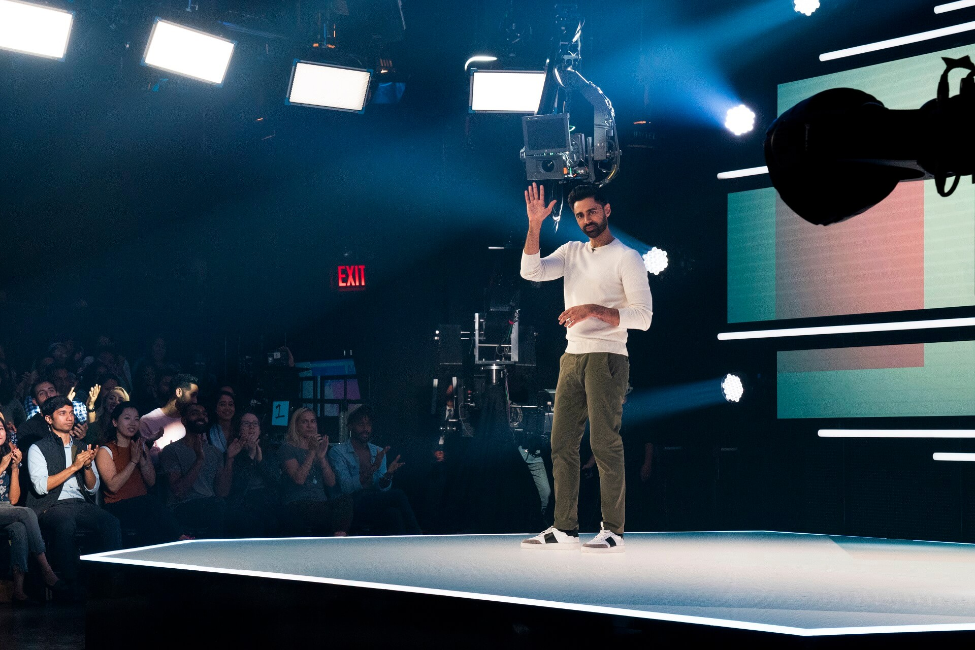 Patriot Act with Hasan Minhaj. Foto: Netflix