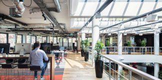 Netflix sitt europeiske hovedkvarter i Amsterdam. Foto: Netflix