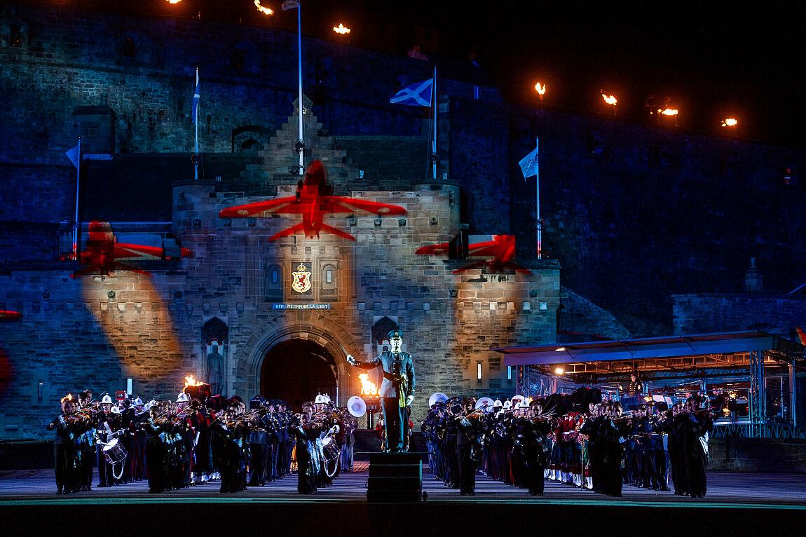 Edinburgh Military Tattoo 2018. Foto: NRK