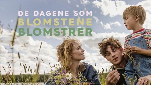 De dagene som blomstene blomstrer. Foto: NRK