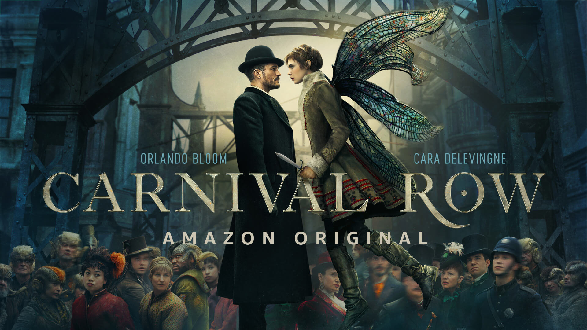 TV-serien Carnival Row. Foto: Amazon