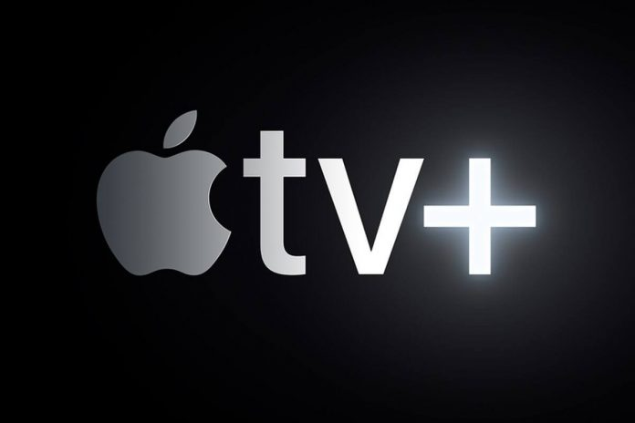 Apple TV+ logo. Foto. Apple