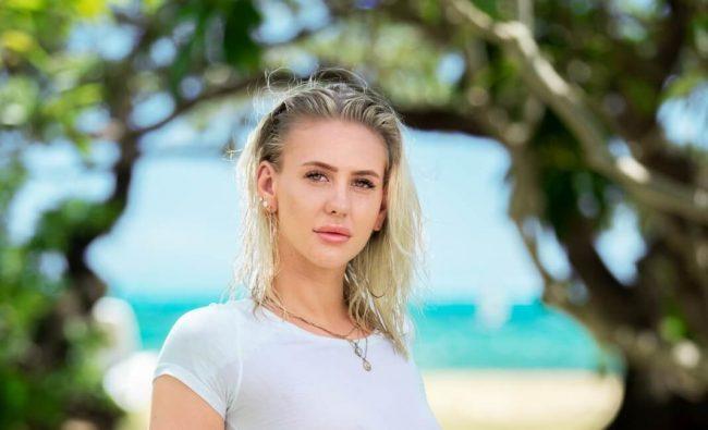 Victoria Øren Hammer (21) er deltaker i Ex on the Beach Norge, sesong 2. Foto: TVNorge/Toke Mathias Riskjær