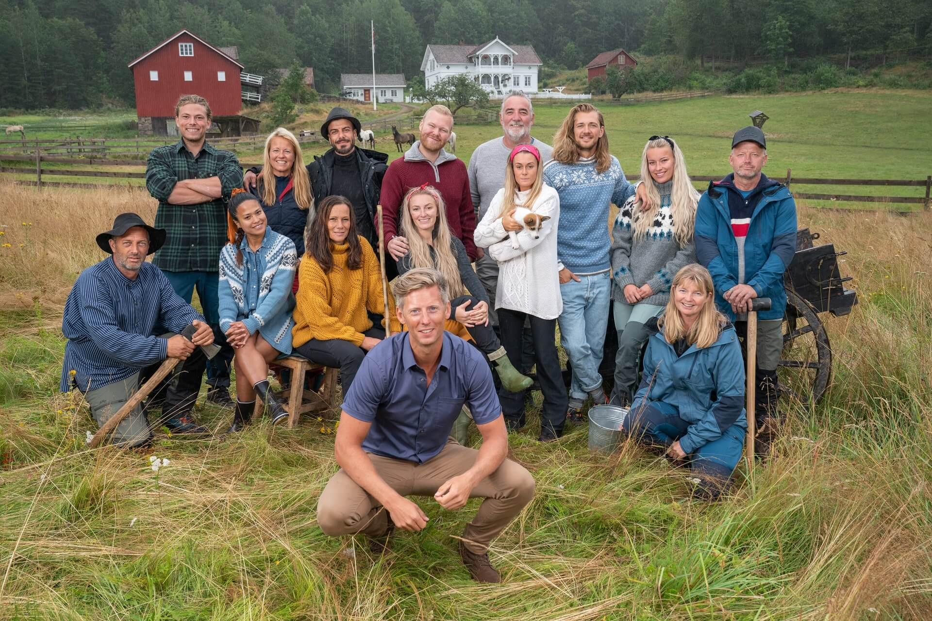 Farmen 2019. Foto: Espen Solli/ TV 2