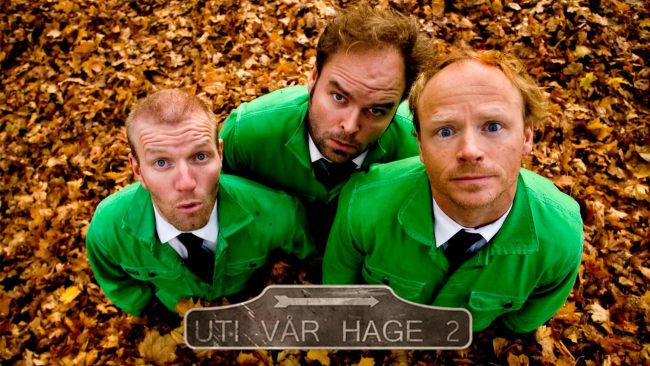 Uti vår hage. Foto: NRK