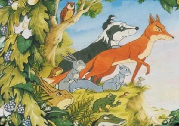 Fllukta frå dyreskogen