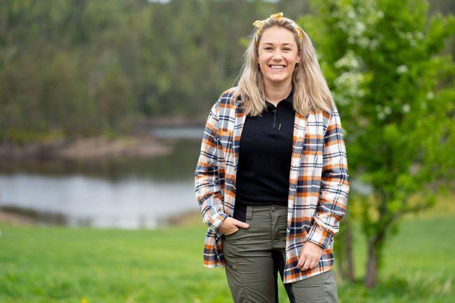 Ida Fladen i Farmen Kjendis 2021. Foto: TV 2
