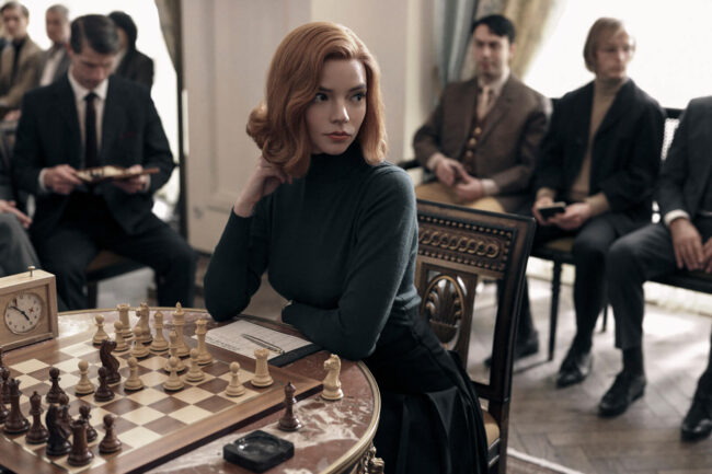 The Queens Gambit. Foto: Netflix