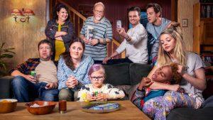 Familien lykke. Foto: NRK