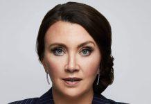 Camilla Läckberg. Foto: Magnus Ranvid/Viaplay